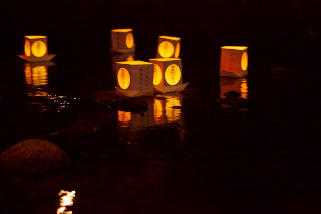 灯篭流しの写真